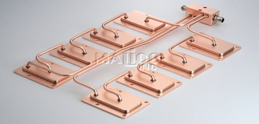 Cold plate cooling igbt_medical_laser diode_5g telecom l Malico Inc